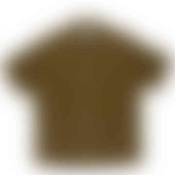 Olive Dogtown Short Sleeve Shirt