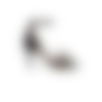 Black White Isabelle Sandals