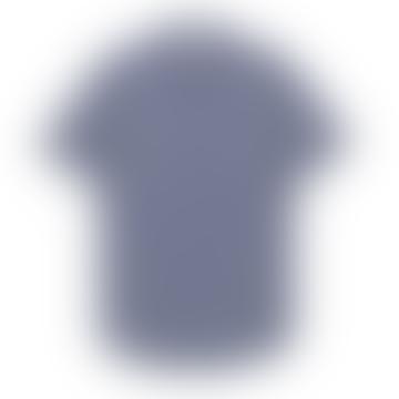 Makia Clothing Blue Luoto Short Sleeve Shirt