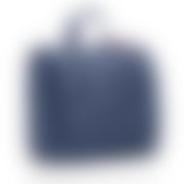 XL Spots Navy Foldable Toilet Bag