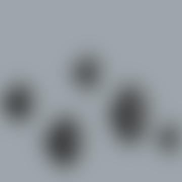Set Of 5 The Dots Hooks