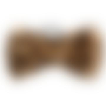 Leopard Pattern Hair Bow
