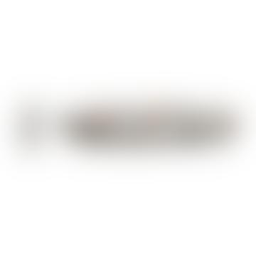 Matt G Colors Razor Handle With White Body Shaving Razor Cartridge And Matt Stainless Steel Wall Holder