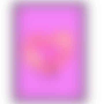 'Neon Insta Love' A3 Print