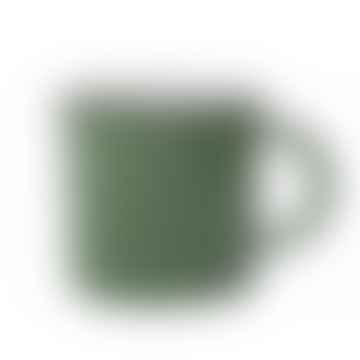 Green Tinware Effect Stoneware Mug 16oz