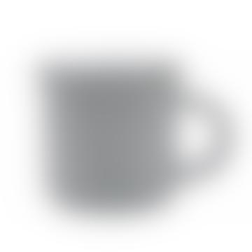 Light Grey Tinware Effect Stoneware Mug 16oz