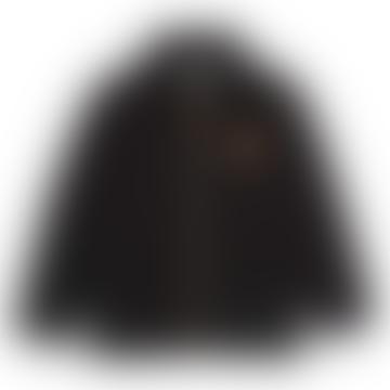Mini Rodini Black Polar Fleece Jacket