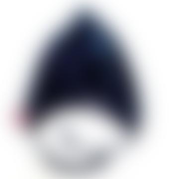 Navy Fur Hat