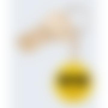 Yellow Emoji Keyring
