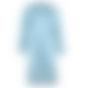 YUMI bluegreen moleskin coat
