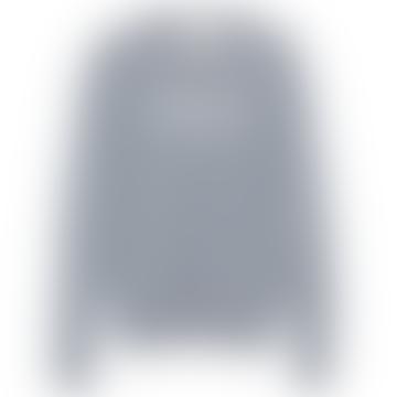 Grey Melange Paradise Jersey Sweater
