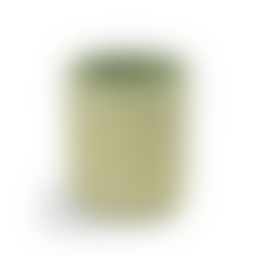 Lemon Green Extra Small Cylinder Vase