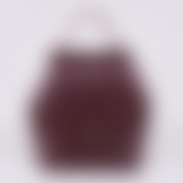 Hex Bag Bordeaux