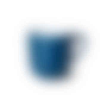Tasse de couleur unie bleu pacifique