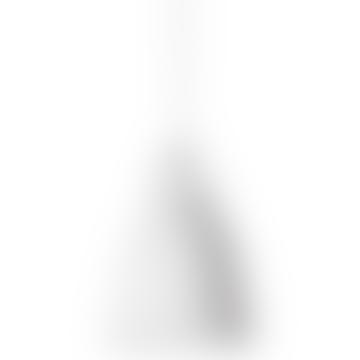 Glossy White Carravaggio Lamp