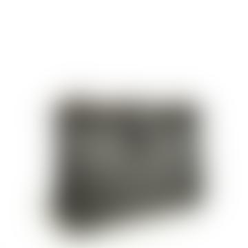 LAMARI BERLIN Black Small Box Calf Lou Hand Bag
