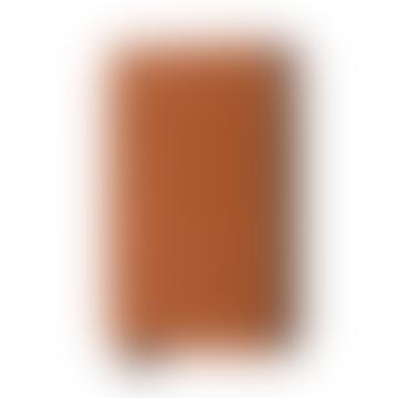 Secrid Cognac Perforated Leather Slimwallet,  RFID