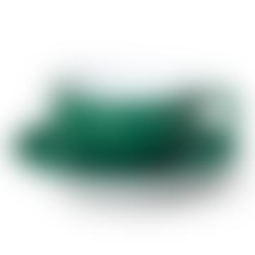 Coupe de couleur unie vert foncé