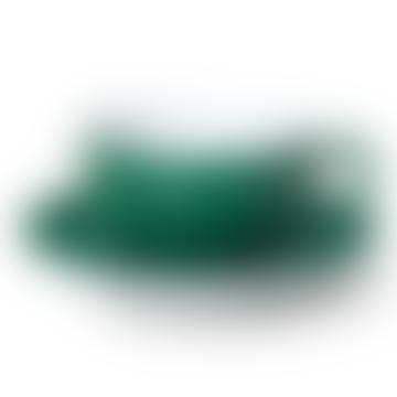 Plat de couleur unie vert foncé