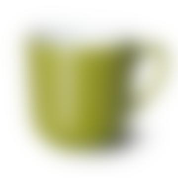 Tasse de couleur unie vert olive