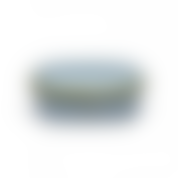 Serax Smokey Blue Terres De Reves Oval Butter Dish