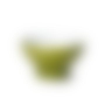 Bol de couleur unie vert olive