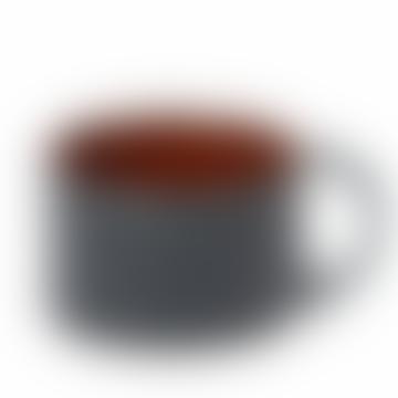Dark Blue Terres De Reves Stoneware Cup