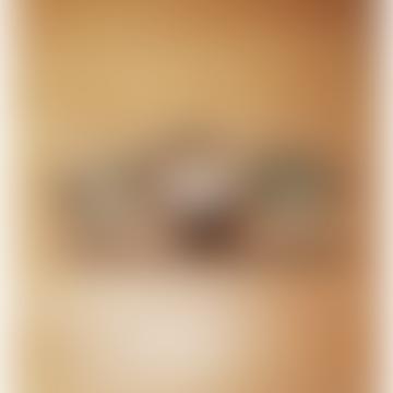 Walnut Aperitif Board With 3 Glasses
