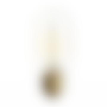 40 W Amber Crystal Glass Edison Tubular Bulb