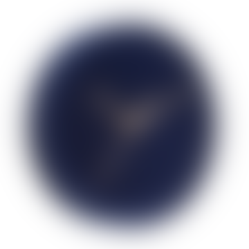 Karlsson Luxe Velvet Wall Clock- Dark Cobalt