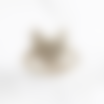 Datter Industries Brass Cat Face Ring
