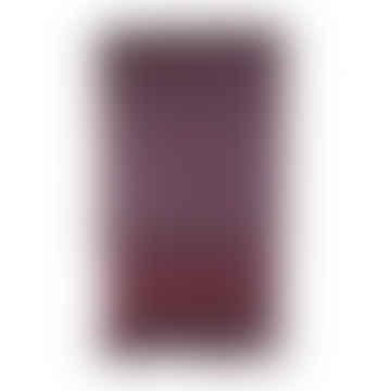 Purple Hand Woven Wool Scarf