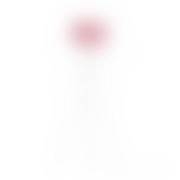 Mini Baby Rose Carmina Shade With White Tripod Floor Lamp