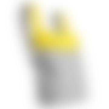 Yellow & Grey  Transforming Tote
