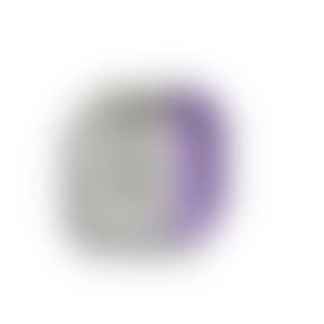 Kapka Purple Mind Pop Enamel Mezze Plate