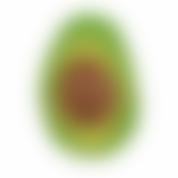 Oli & Carol Natural Rubber Arnold The Avocado Fruits Teethers Chewing Toy