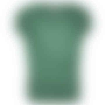 TJEK green melange jersey shirt