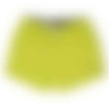 Champion Lime Yellow Plain Beach Shorts