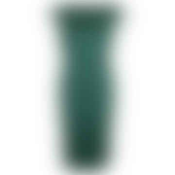 INGA plain green dress