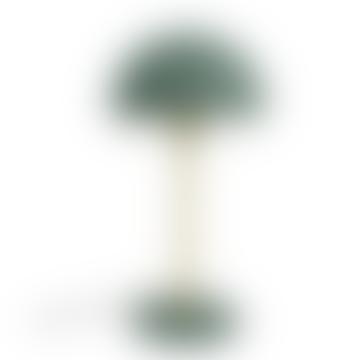 Present Time Green Bonnet Table Lamp