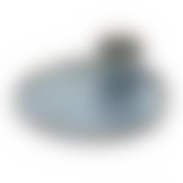 Serax 15 x 4.5cm Smokey Blue Ceramic Egg Plate