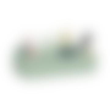 32.7 x 16.7 x 15.6cm Mint Green Toolbox