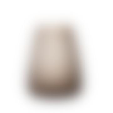 Smoke Grey Medium Dim Scale Vase