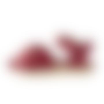 Red UK8 SW9 EU25 Ss 19 Swimmer Sandal