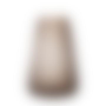 Smoke Grey Large Dim Scale Vase