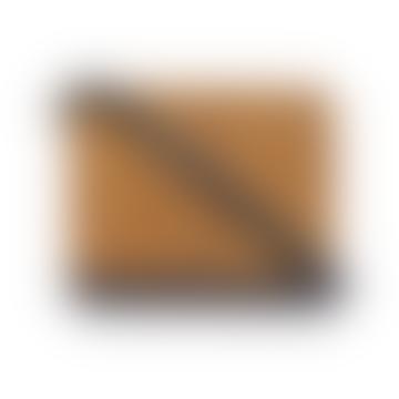 Audrey Mini Black Cognac - Cross Shoulder Bag