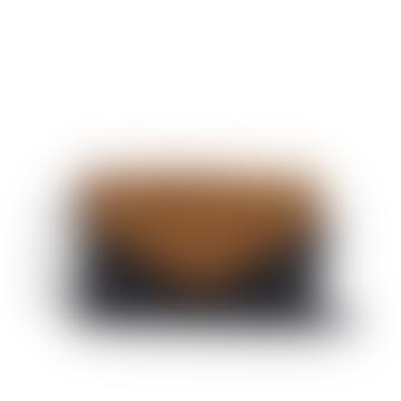 O My Bag  Josephine Cross Body Purse/Bag - Black/Cognac