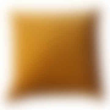 Cushion Velvet Turmeric Square