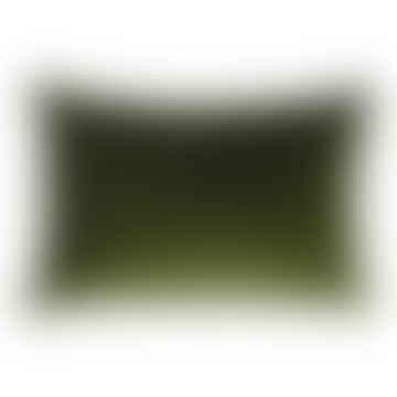 Cushion Velvet Olive Rectangle