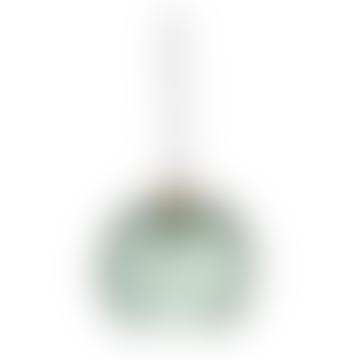 Green Glass Pendant Lamp